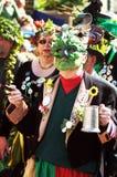 Jack le festival vert dans Hastings, R-U Image libre de droits