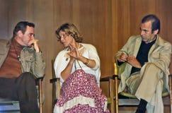 Jack Lemmon, Maria Schell, and Maximilian Schell Stock Photos