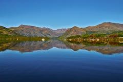 Jack London jezioro Lato, reflexions Zdjęcia Royalty Free