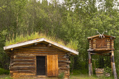 Jack London-` s Blockhaus Stockbilder
