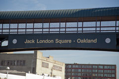 Jack London Square Oakland Royalty Free Stock Photography