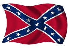 Jack naval confederado Imagens de Stock