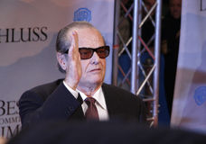 Jack Nicholson Foto de archivo