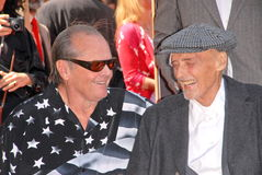 Jack Nicholson,Dennis Hopper Royalty Free Stock Image