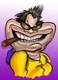 Jack Nicholson karykatura Zdjęcia Stock