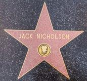 Jack Nicholson stjärna, Hollywood fotografering för bildbyråer