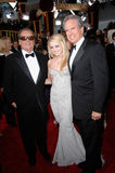 Jack Nicholson, Warren Beatty. JACK NICHOLSON (left) & daughter & WARREN BEATTY at the 64th Annual Golden Globe Awards at the Beverly Hilton Hotel. January 15 Stock Images