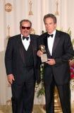 Jack Nicholson,Warren Beatty. 26MAR2000:  Actors WARREN BEATTY (right) & JACK NICHOLSON at the 72nd Academy Awards.  Paul Smith / Featureflash Royalty Free Stock Photos