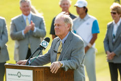 Jack Nicklaus at the Memorial Tournament stock photo