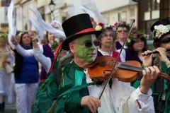 Jack no festival verde Hastings 2013 fotos de stock royalty free