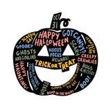Фонарик хеллоуина Jack o иллюстрация штока