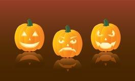 Jack O'Lantern. S for Halloween, illustration Stock Photo