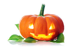 Jack-o'-lantern Royalty Free Stock Images