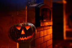 Jack-o'-lantern Στοκ Φωτογραφία