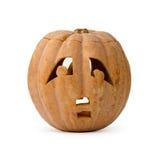 Jack-o-lantern. Carved pumpkin jack-o-lantern for halloween Stock Image