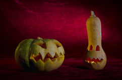 Jack-o'-lantern Immagine Stock