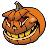 Jack-O-Lantern. Halloween pumpkin, vector illustration Stock Image