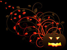 Jack-O-Lantern background Royalty Free Stock Images