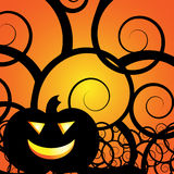 Jack-O-Lantern background Royalty Free Stock Photo