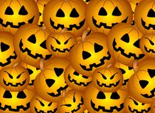 Jack-O-Lantern Background Royalty Free Stock Photos