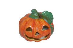 Jack-O-Lantern candle scent diffuser Stock Images