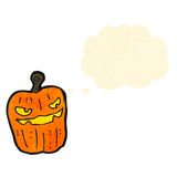 jack o lantern cartoon Royalty Free Stock Photo