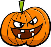 Jack o lantern cartoon illustration stock illustration
