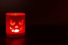 Jack-o-lantern on a dark Stock Photography