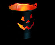 Jack-o-lantern decoration Royalty Free Stock Photography
