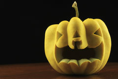 Jack o'lantern faces Royalty Free Stock Photography