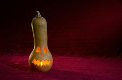 Jack-o'-lantern. stock photo