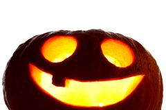 Jack O Lantern halloween pumpkin Stock Photos