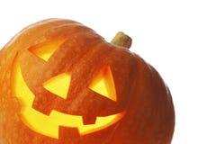 Jack O Lantern halloween pumpkin Stock Images