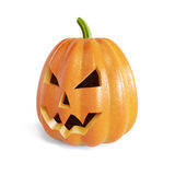Jack O Lantern halloween pumpkin Stock Photography