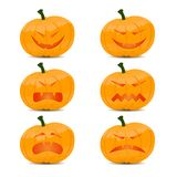 Jack O Lantern halloween pumpkin Stock Images