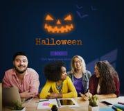 Jack O' Lantern Halloween Symbol Concept Royalty Free Stock Photography