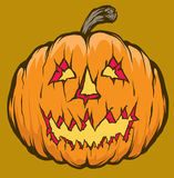 Jack o lantern Royalty Free Stock Photo