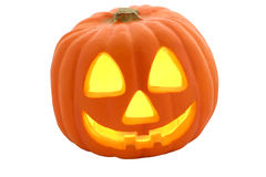 Jack-O-Lantern Isolated Royalty Free Stock Photo
