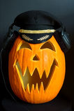 Jack O Lantern Pilot Royalty Free Stock Image