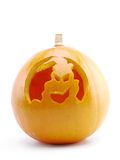 Jack-o-lantern pumpkin Stock Photo