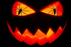 Jack O Lantern pumpkin Royalty Free Stock Photos