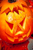 Jack o lantern pumpkin halloween Stock Photography