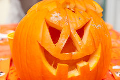 Jack o lantern pumpkin halloween Royalty Free Stock Images