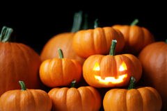 Jack-o'-lantern Royalty Free Stock Photo