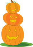 Jack O Lantern Stack Stock Photos
