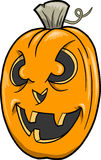 Jack-O-Lantern Vector Illustration Stock Images