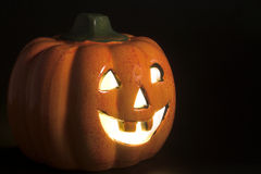 Jack-O-Lanterna Fotografia Stock Libera da Diritti
