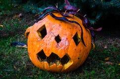Jack-O-lanterna Fotografie Stock Libere da Diritti
