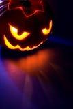 Jack-o-lanterna de Sppoky Fotografia de Stock