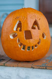 Jack-o-Lanterna di Halloween Immagine Stock